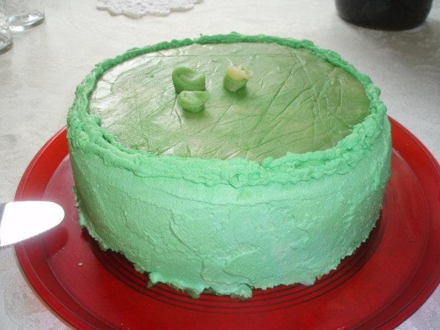 Vanilja-ananas kakku