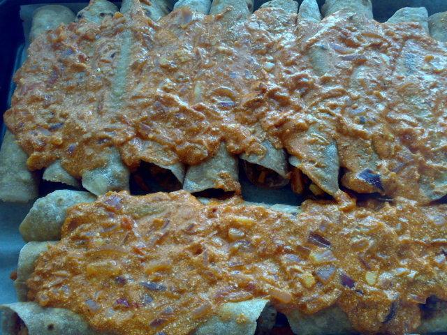 Tortillapaistos, iso annos 5