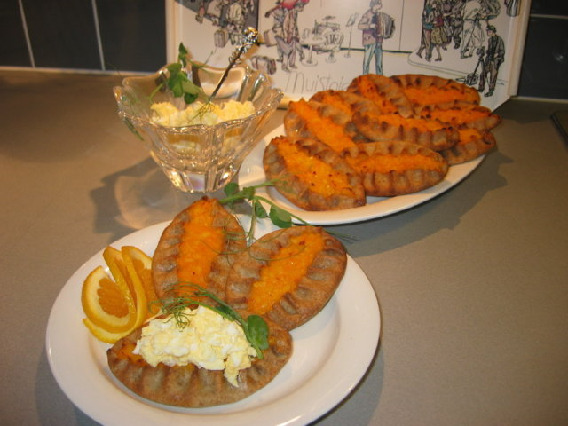 Porkkanapiirakat
