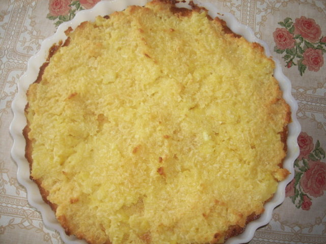 Reseptikuva: Ananas-kookospiirakka 1