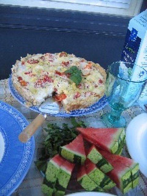 Reseptikuva: Tomaattijuustopiirakka 1
