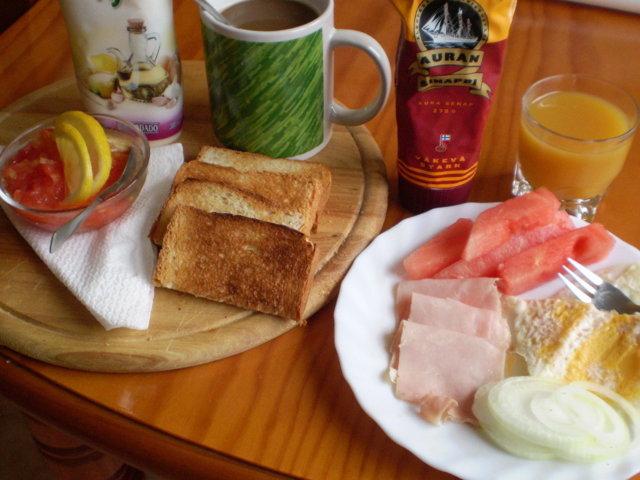 Reseptikuva: Aamiaista Españassa (10.07.08) 1
