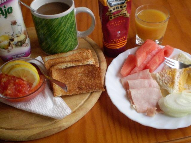 Reseptikuva: Aamiaista Españassa (10.07.08) 2