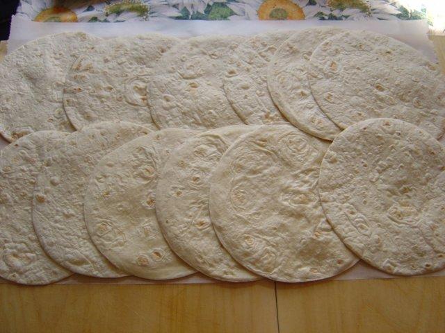 Tortillat Broileripekoni täytteellä 2