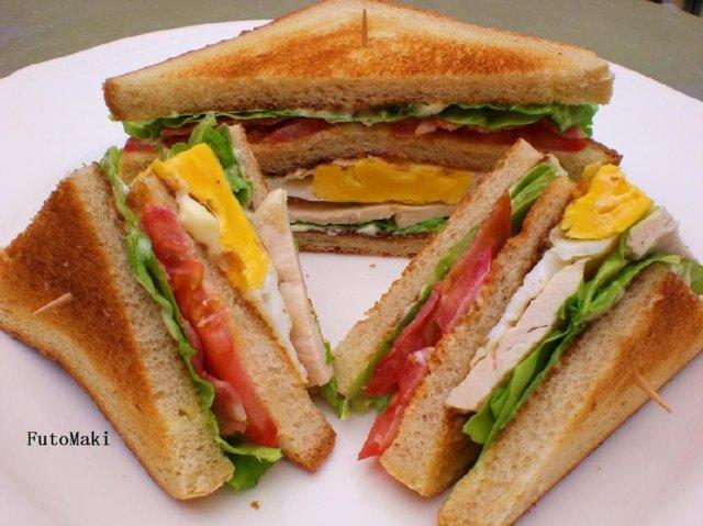 Reseptikuva: Club Sandwich 1