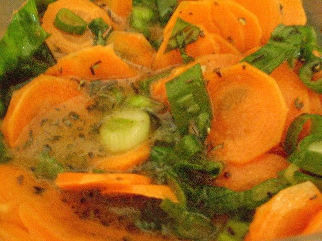 Marinoidut porkkanat (26.7.08) 1