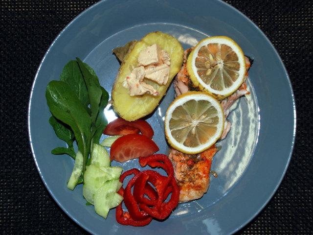 Sitruunainen Uunikala