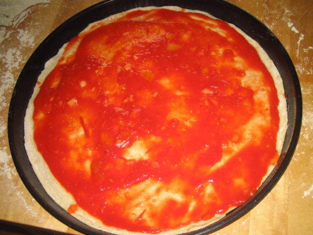 Pizza Carciofo (artisokka) 2