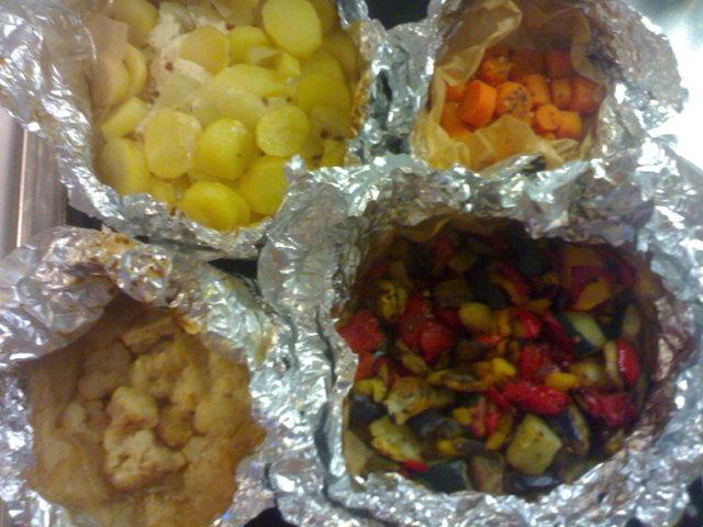 Helpot kasvisnyytit uunissa tai grillissä