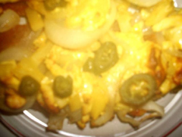 Laihduttajan pitsa 1