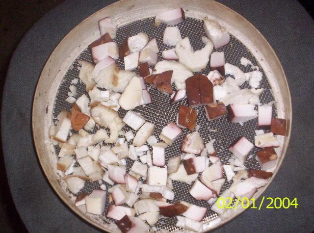 Suppilovahveroiden kuivaus