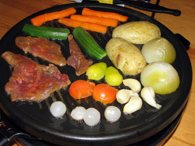 Raclette Paahtopaistista 1