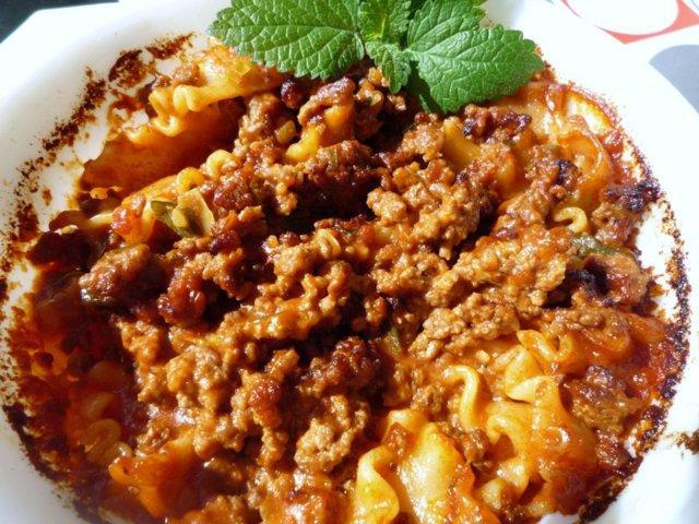 Reseptikuva: Pika-Lasagnette (22.9.08) 2