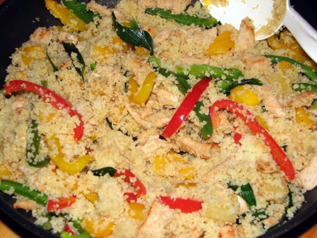 Broileri-Paprika Couscous