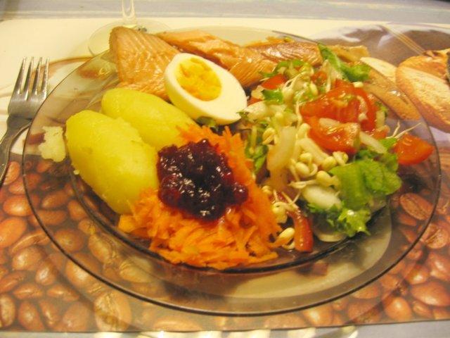 Reseptikuva: Ateria 43 : Savustettua lohta 1