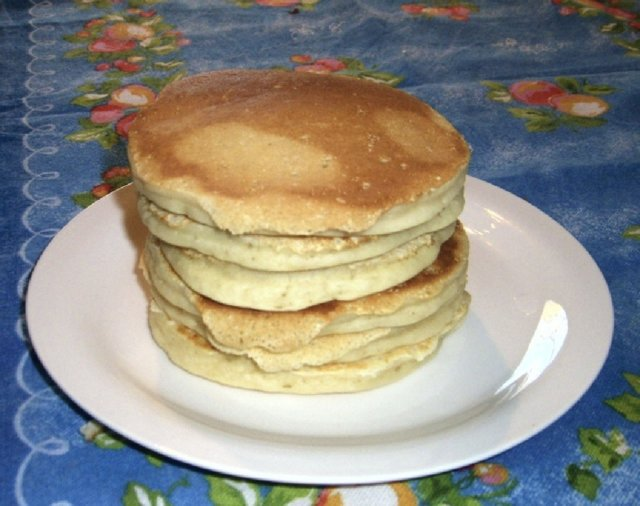 Pancakes ilman kananmunia