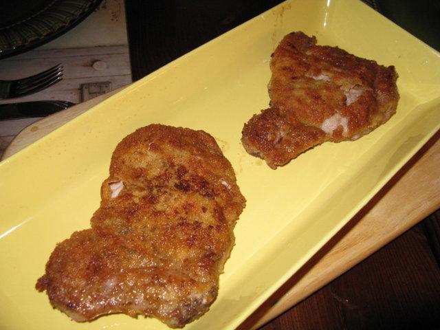 Reseptikuva: Perus porsaankyljykset 1