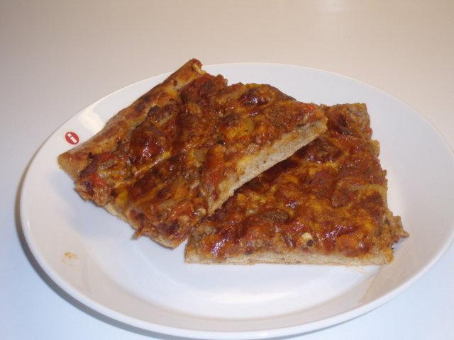Tuhti jauhelihpizza 1