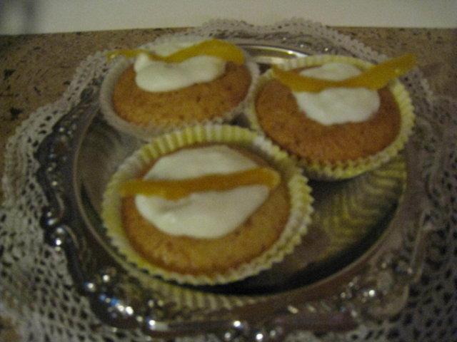 Sitruunarahkaiset muffinit 2