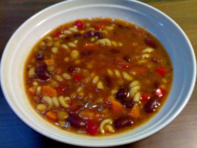Reseptikuva: Chili con soppa 1