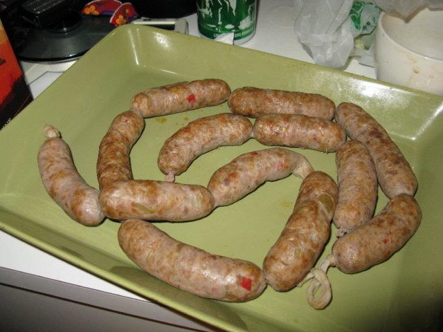 Reseptikuva: Chorizo, itsetehtynä 1