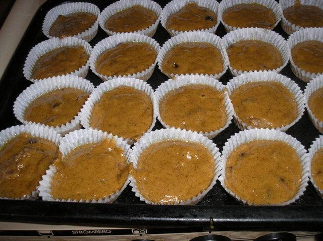 Jouluset muffinssit.n.20kpl 2