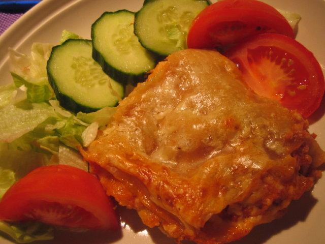Tonnikala-lasagne