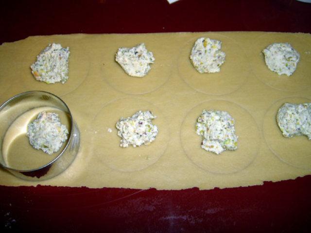 Pähkinäiset raviolit 4