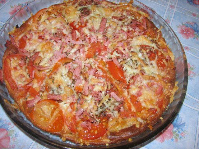 Reseptikuva: Pizza-pannari 1