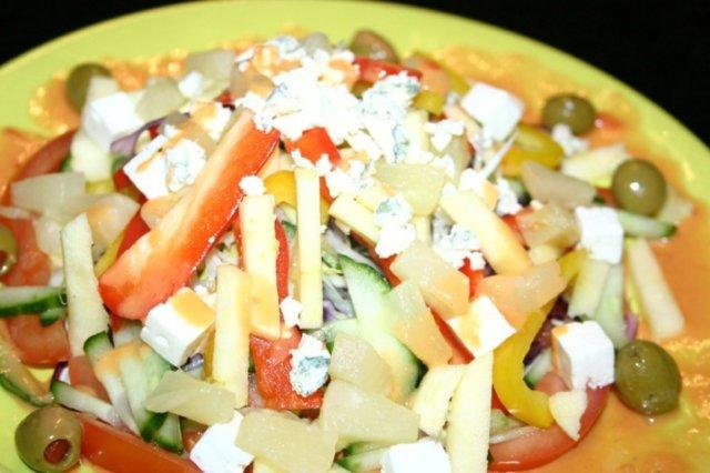 Reseptikuva: Putkimiehen salaatti 1