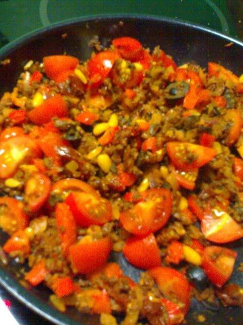 Tomaattinen soijarouhepiirakka 2