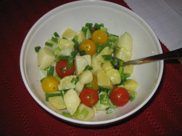 Reseptikuva: perunasalaatti, majoneesiton 1