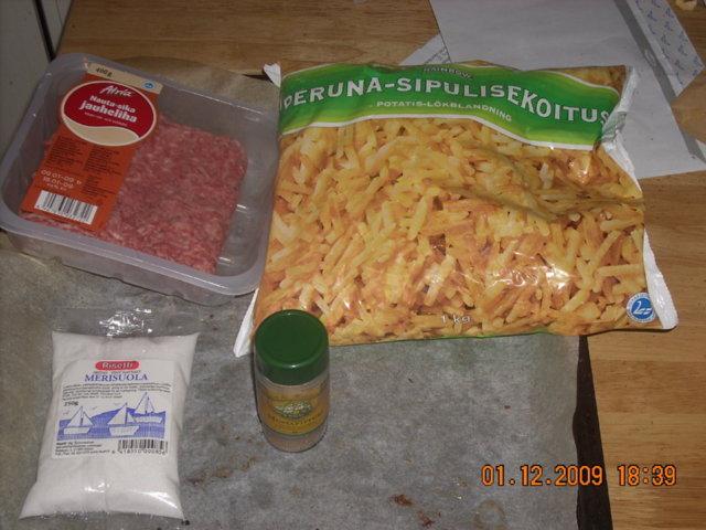 Sipuli-peruna jauheliha loota 1