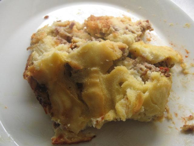 Jauheliha-perunasoselaatikko 1