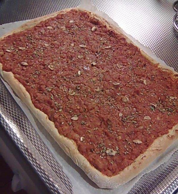 Vegaani pizzatäyte