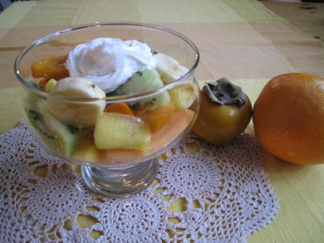 Eksoottinen Hedelmäsalaatti 1