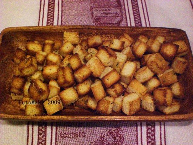 Croutons Provence - Öljyllä