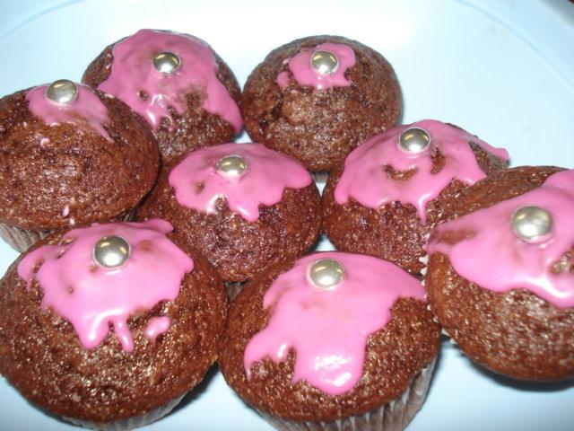 Reseptikuva: Kevyet suklaa muffinit 2