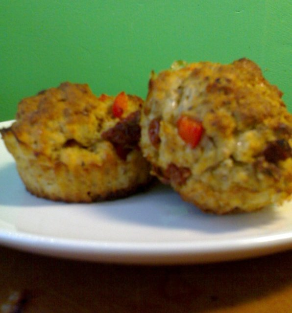 Picnic muffinsit - vege 1