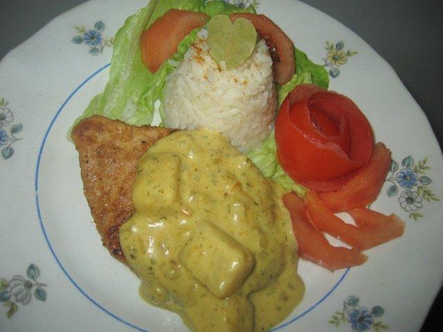 Ananas-Currykastike 3