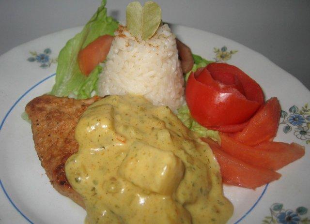 Ananas-Currykastike 1
