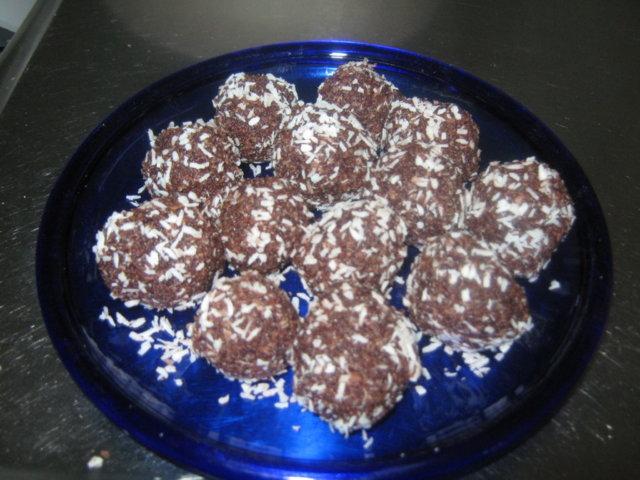 kaura - kookospallot