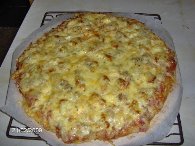 Kinkkupizza Pellillinen