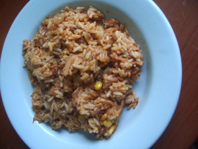Riisi-tonnikalavuoka