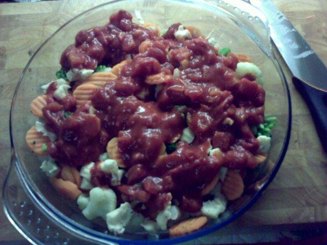 Tomaattinen vihannespaistos 2