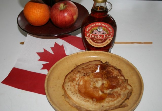 FLUFFY CANADIAN PANCAKES 1