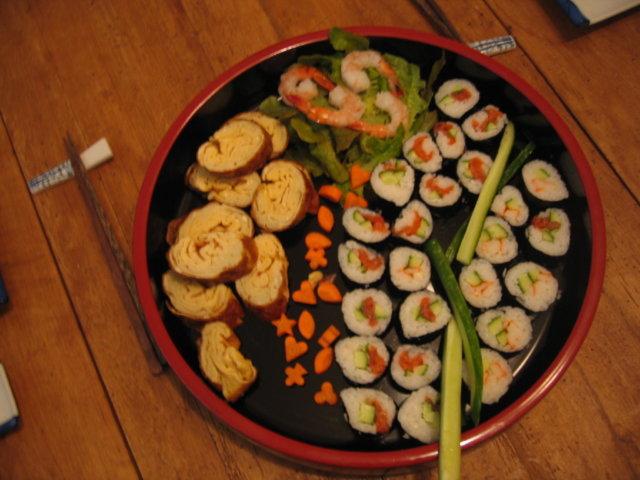 Reseptikuva: Japanilainen rullamunakas -tamagoyaki 1
