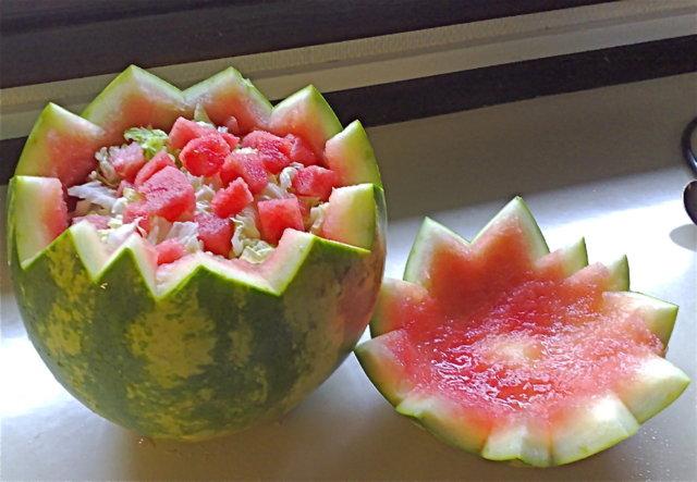 Melonisalaatti 1