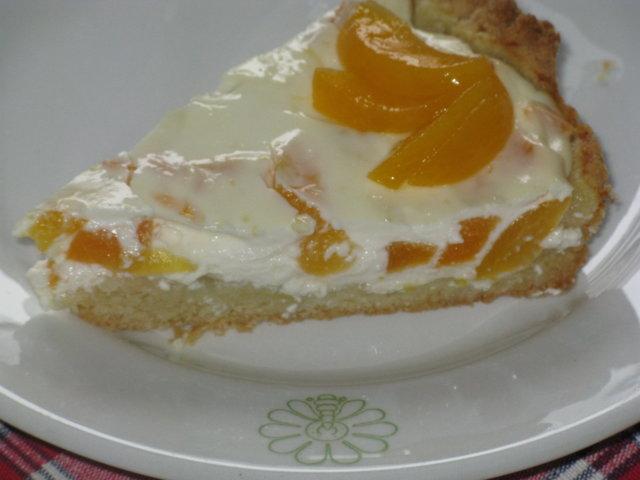 Sitruunainen aprikoositorttu 1