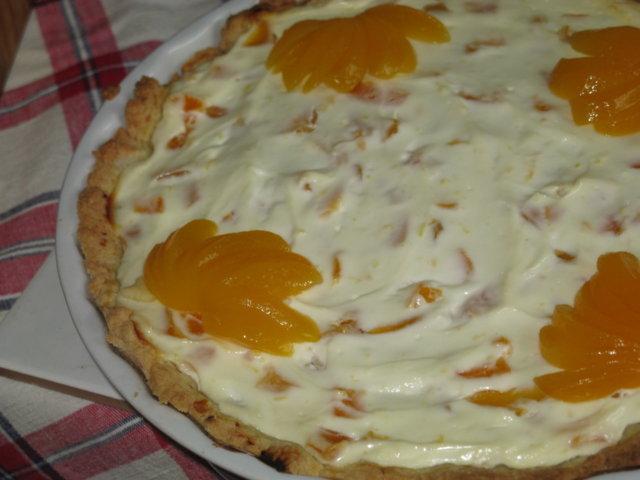 Sitruunainen aprikoositorttu 2